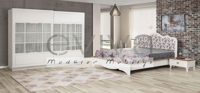 country-yatak-odası